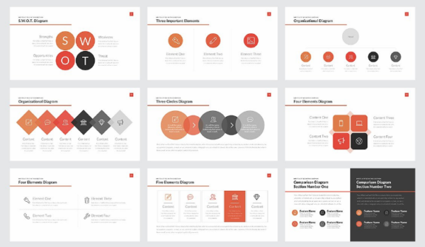 Business Strategy Deck PowerPoint by Rocketo Graphics