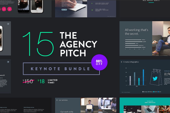 The Agency Pitch Keynote Template