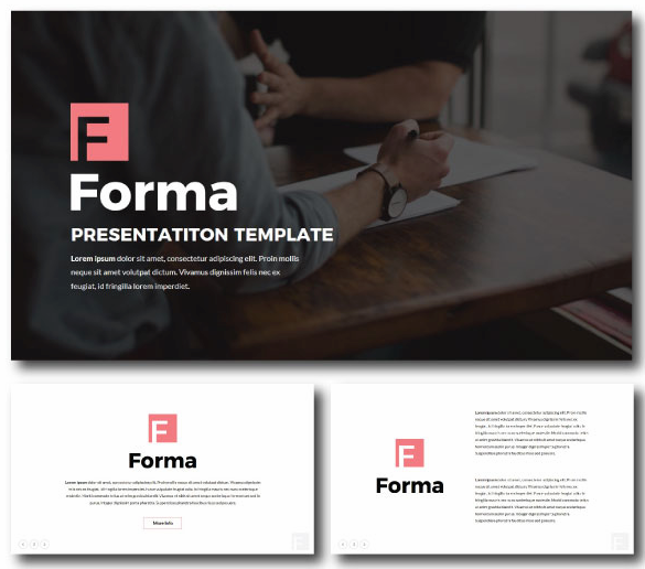 Forma Pitch Deck Keynote