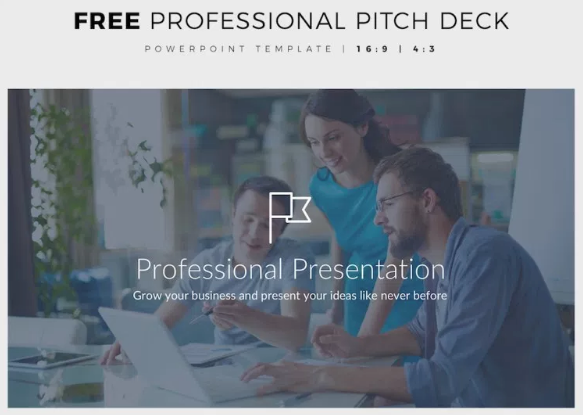 Free Professional PPT Pitch Deck