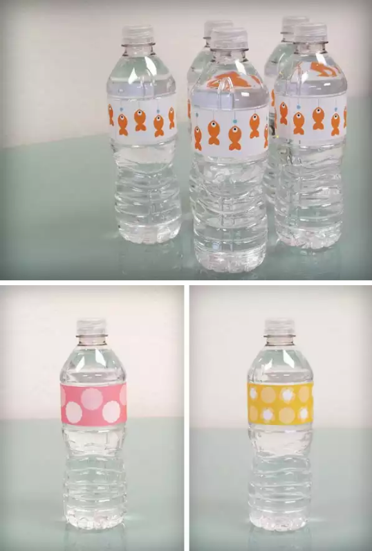 10 Free Water Bottle Label Templates