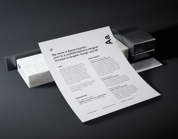 Granite Stationery Mockup By Aaron Covrett