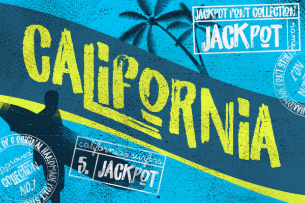 california_jackpot_font