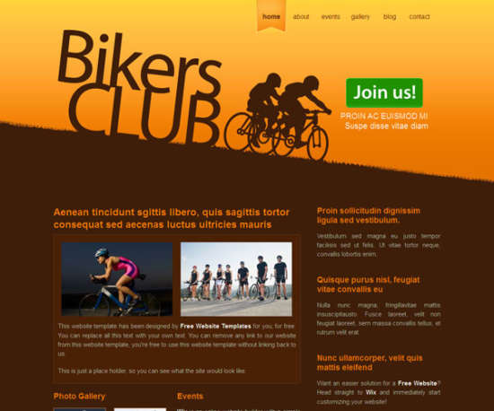 bikers_club_sport_template