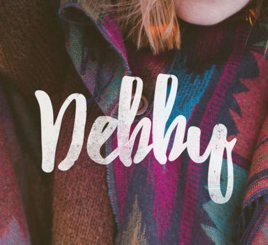 debby_brush_font