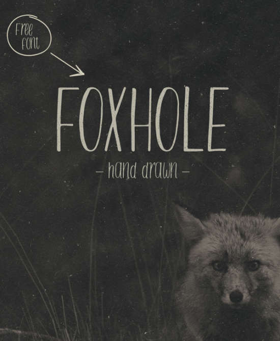 foxhole_brush_font