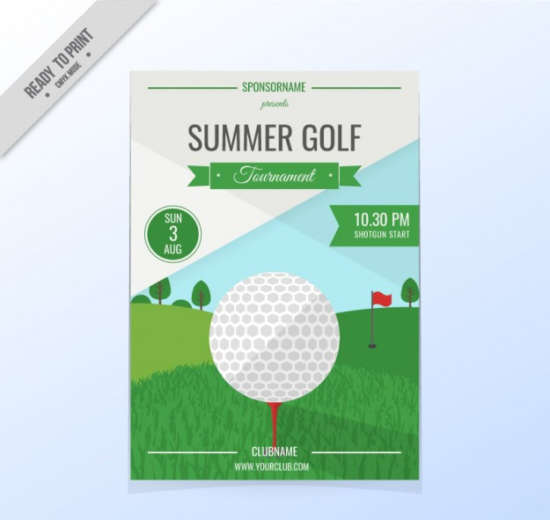 golf_tournament_flyer