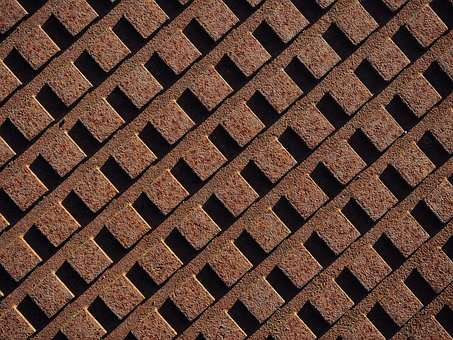 rust_rusty_grid_array_pattern