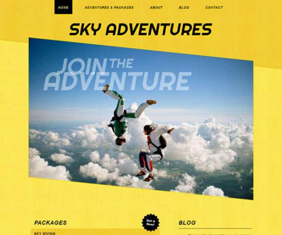 sky_adventures_sport_template
