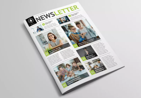 InDesign Multipurpose Newsletter (A4)