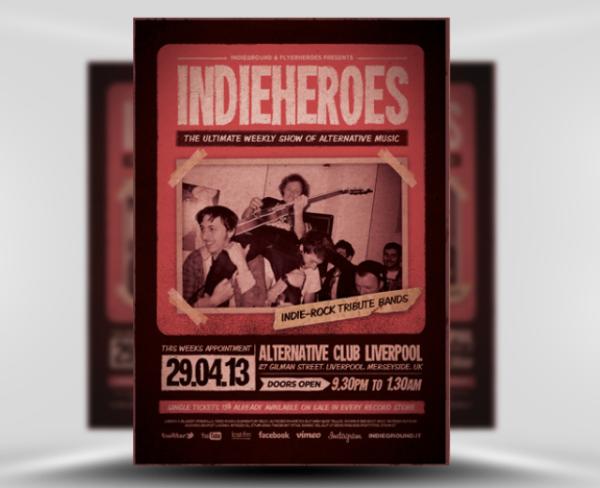 indie_heroes_free_indie_flyer_template