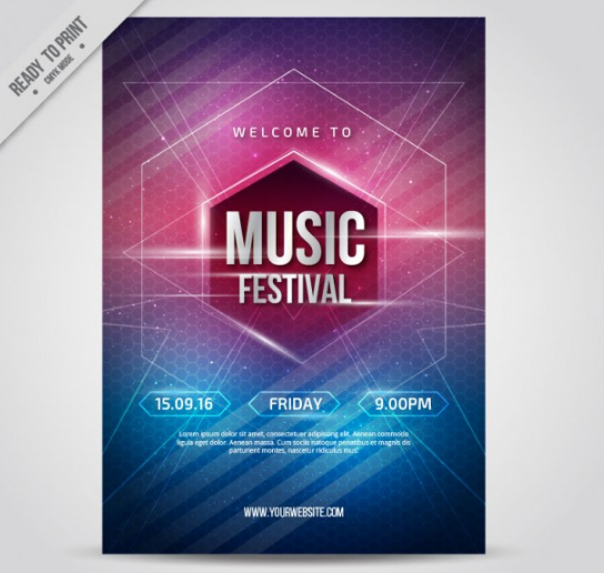 interesting_music_party_poster