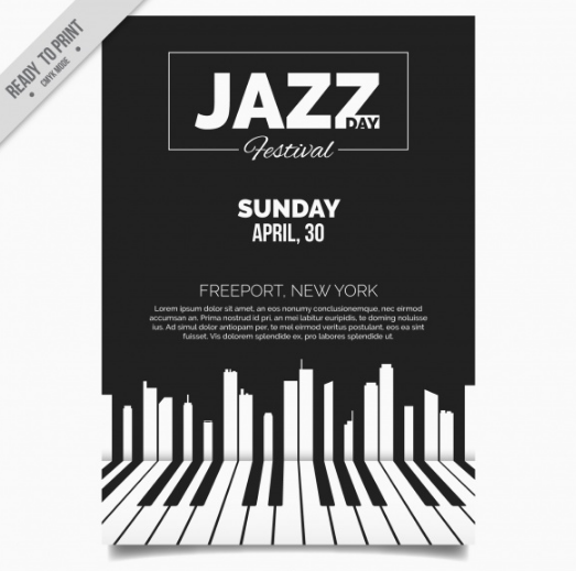 elegant_jazz_brochure_with_piano_keys