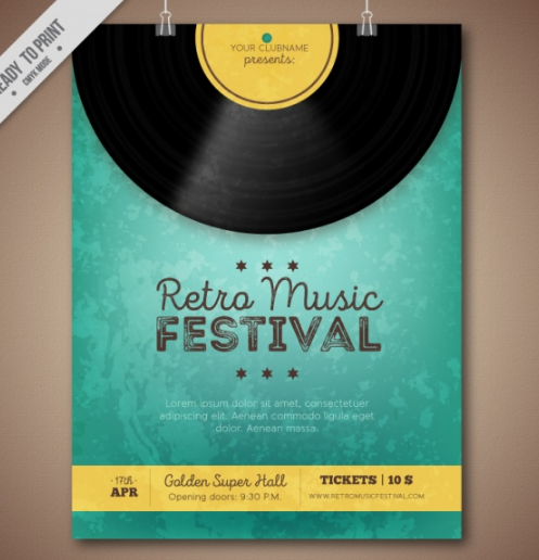 retro_music_festival_brochure_with_vinyl_and_yellow