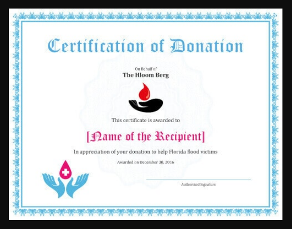 donation_appreciation_certificate