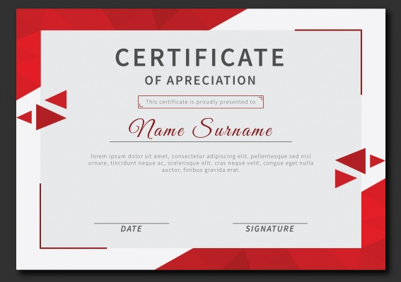 certificate_of_recognition_with_red_triangles