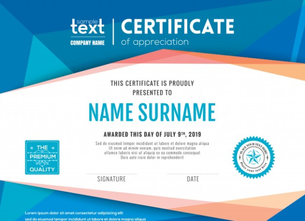 modern_certificate_of_appreciation_with_blue_polygonal_background