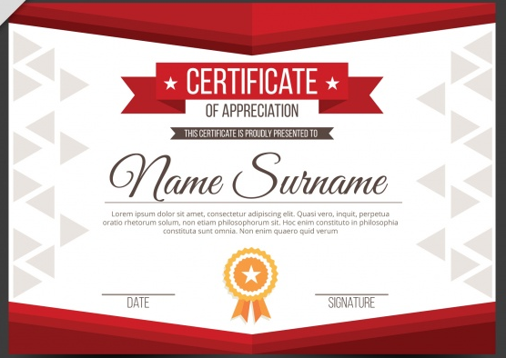 appreciation_diploma_with_red_shapes