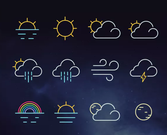 solid_weather_icon_set