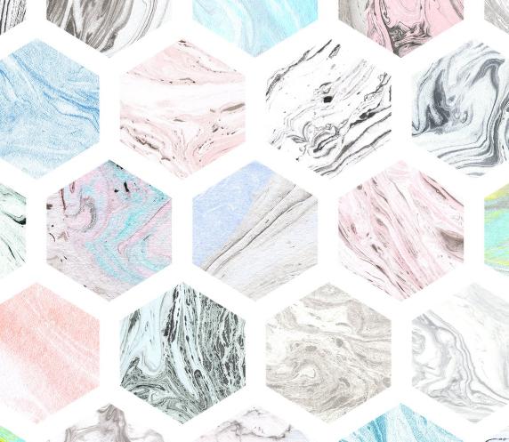 Suminagashi Marble Paper Textures