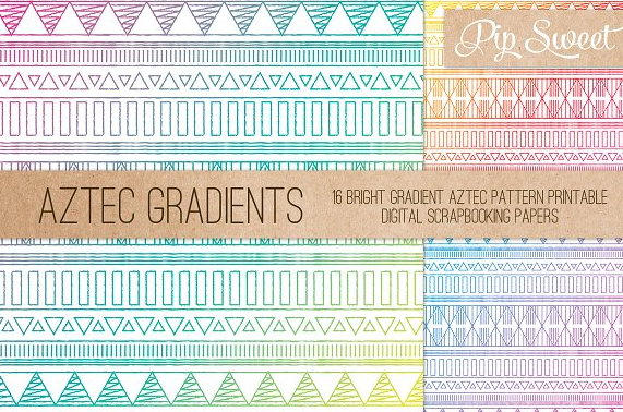16_premium_fine_line_aztec_patterns_in_bright_gradients