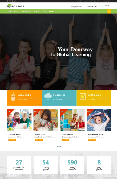 School Exclusive Moodle Theme