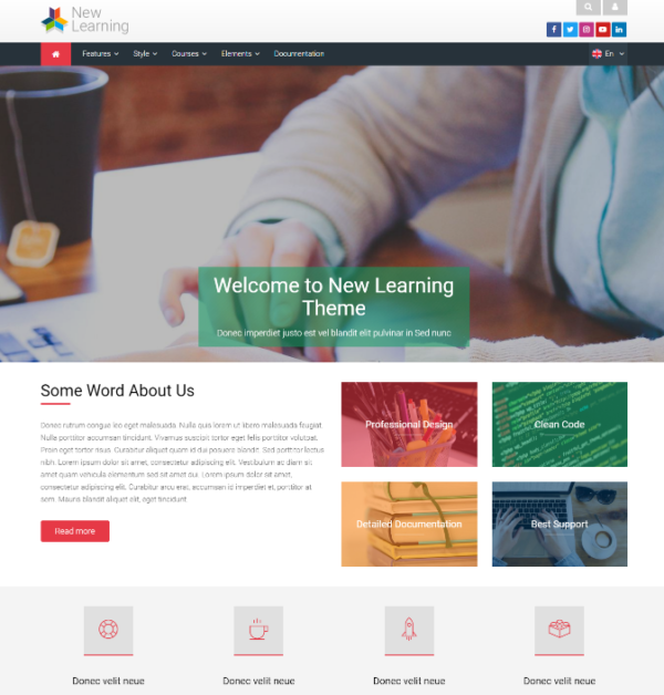 New Learning Theme