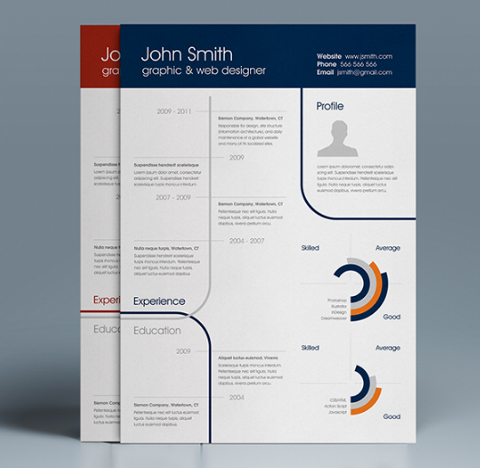 free_a4_clean_one_page_resume_template