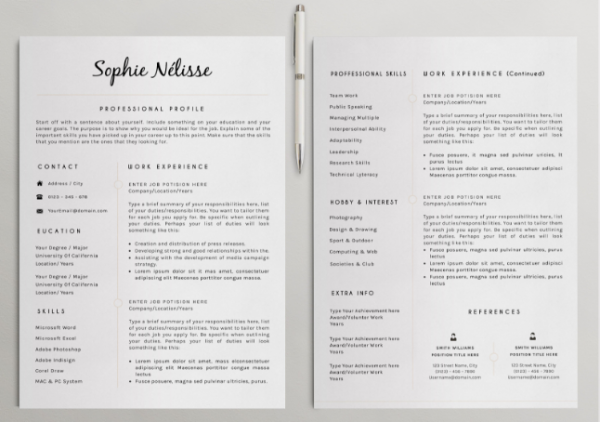 how to write a good one page resume 11 tips - How To Write A One Page Resume