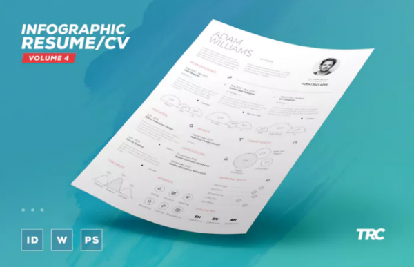 single_page_infographic_resume_doc_indd