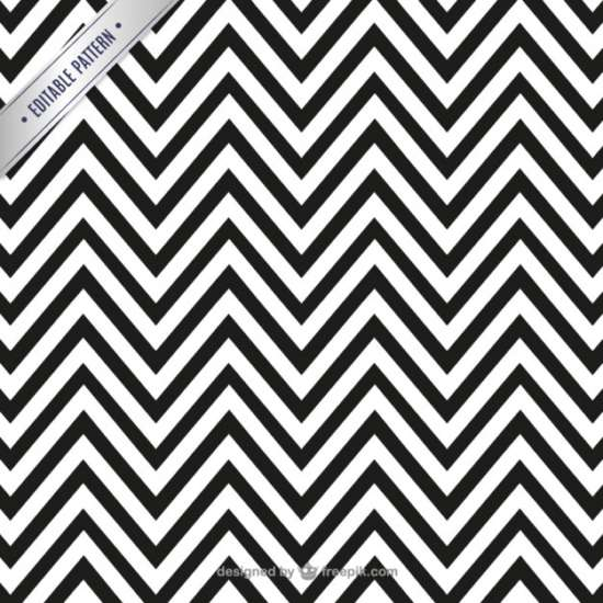 black_and_white_zigzag_pattern