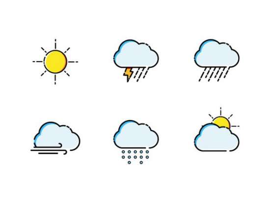 illustrated_weather_icon_set