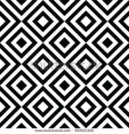 black_and_white_abstract_rhombus_seamless_pattern_background