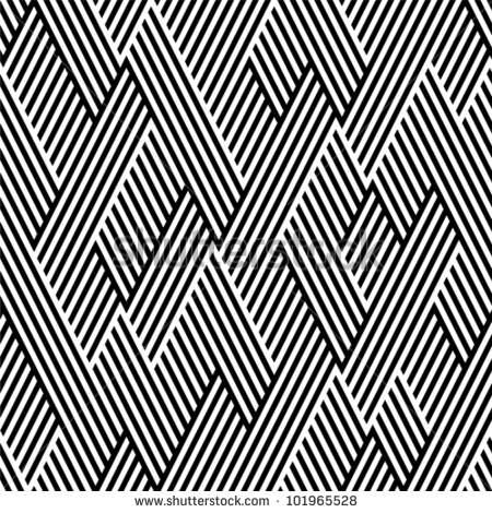 pattern_in_zigzag_with_line_black_and_white