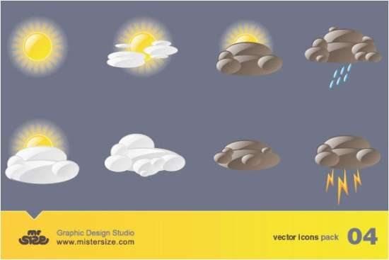 weather_free_vector_icons_pack
