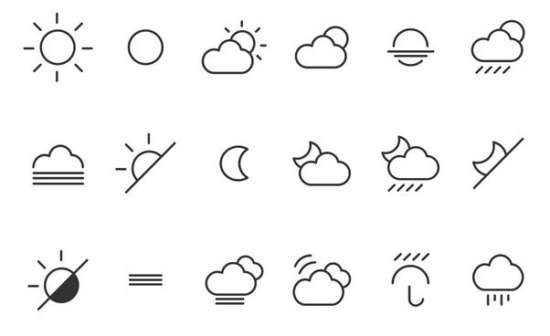 weather_icons_and_font
