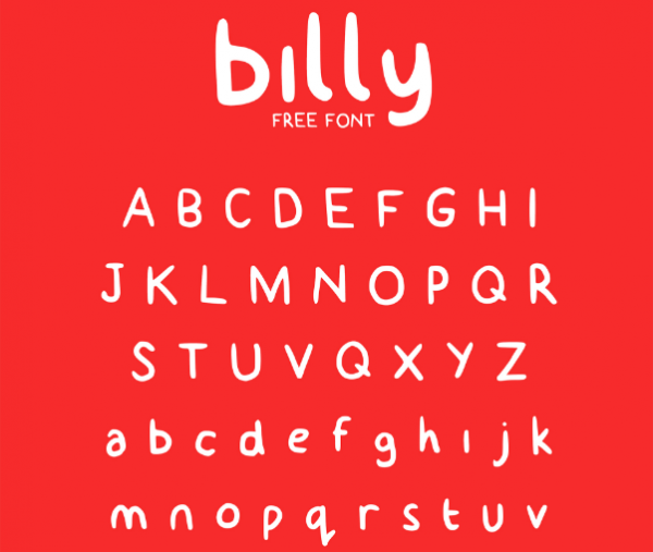 free_billy_typeface