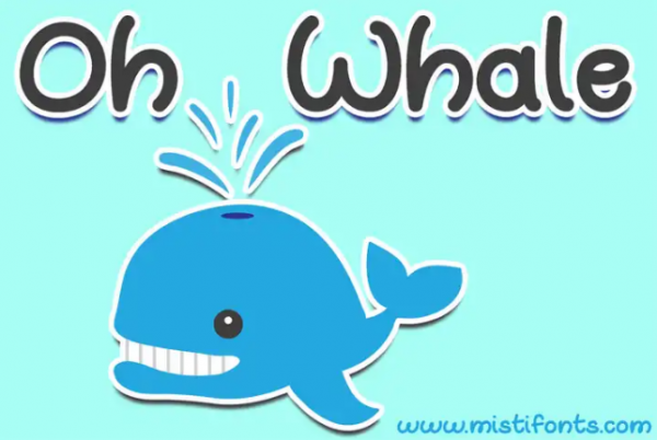 oh_whale_childish_font