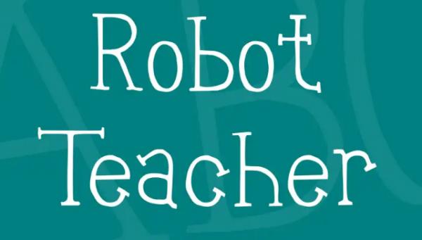 robot_teacher_font