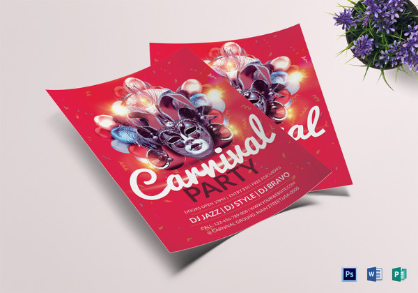 carnival_party_flyer_template
