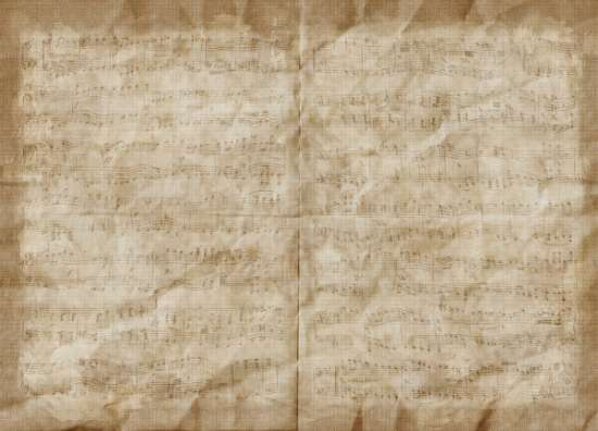 crumpled_brown_music_paper_texture