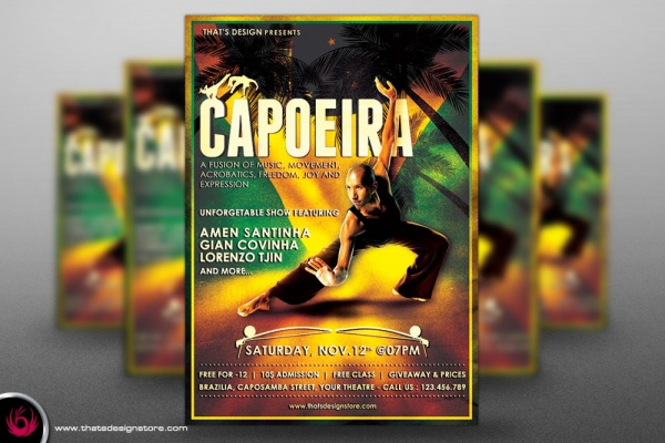 download_capoeira_flyer_template