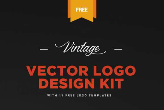 free_vintage_logo_kit__logo_templates