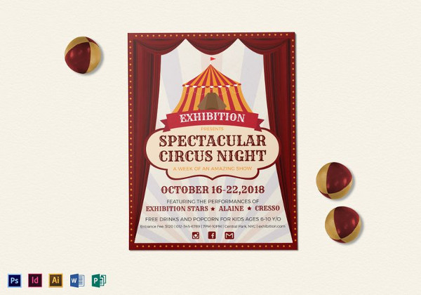 spectacular_circus_night_flyer_template