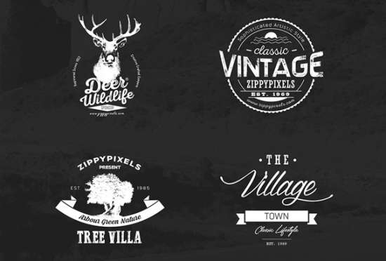 vintage_vector_logo_design_kit_with_15_free_logo_templates