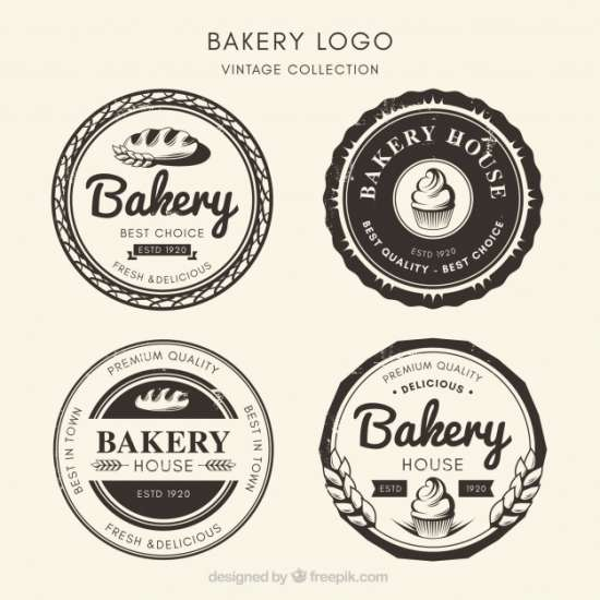collection_of_bakery_logos_in_vintage_style