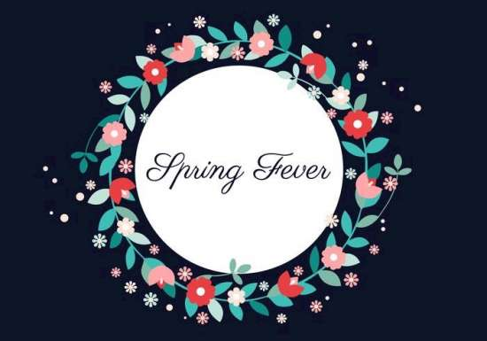 free_vector_spring_flower_wreath