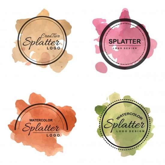 handdrawn_watercolor_splatter_logos