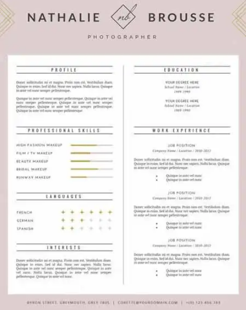 feminine_resume_template_for_ms_word