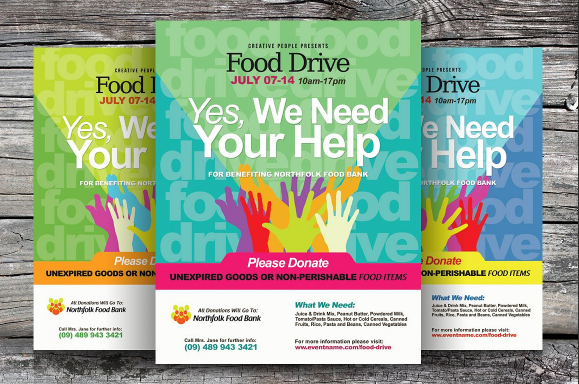 food_drive_flyer_templates